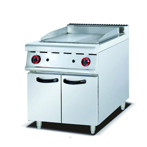 Gas grill with cabinet