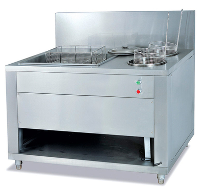 Automatic breading table
