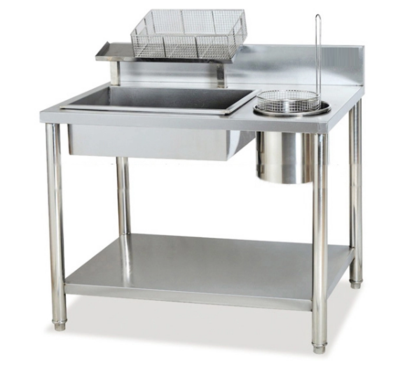 Manual Chicken Breading Table